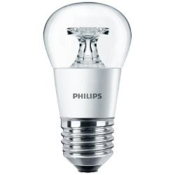 Philips LED Tropfen P45 5,5W (40W) E27 klar warmweiß Bild0