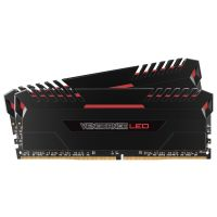 16GB (2x8GB) Corsair Vengeance LED Rot DDR4-3000 RAM CL15 (15-17-17-35)