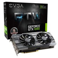 EVGA GeForce GTX 1080 FTW Gaming ACX 3.0 8GB GDDR5 DVI/HDMI/3xDP Grafikkarte
