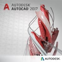 Autodesk AutoCAD 2017 Single License Annual Desktop Subscription + Basic MNT 3a