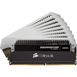 128GB (8x16GB) Corsair Dominator Platinum DDR4-3000 CL16 (16-18-18-36) DIMM-Kit  Bild0