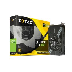 Zotac GeForce GTX 1060 Mini Edition 6GB GDDR5 Grafikkarte DVI/HDMI/3xDP  Bild0