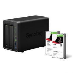 Synology DS716+II NAS System 2-Bay 20TB inkl. 2x 10TB Seagate ST10000VN0004 Bild0
