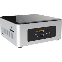 Intel NUC Kit NUC5PGYH Mini PC Pentium N3700 2GB/32GB eMMC WLAN Windows 10 Bild0