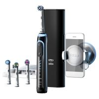 Braun Oral-B Genius 9000 Black CrossAction Elektrische Zahnbürste mit Bluetooth
