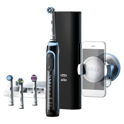 Braun Oral-B Genius 9000 Black CrossAction Elektrische Zahnbürste mit Bluetooth  Bild0
