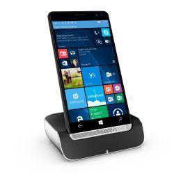 HP Elite x3 schwarz Windows 10 mobile Smartphone Bundle inkl. Dockingstation Bild0