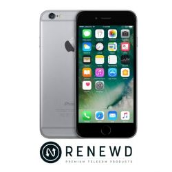 Apple iPhone 6 16 GB Spacegrau Renewd Bild0