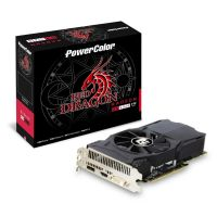 PowerColor AMD Radeon RX 460 Red Dragon 2GB GDDR5 HDMI/DP/DVI Grafikkarte