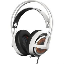 SteelSeries Siberia 350 kabelgebundenes Gaming Headset weiß / orange Bild0