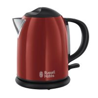 Russell Hobbs 20191-70 Colours Kompakt-Wasserkocher 1,0l Flame Red
