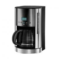 Russell Hobbs 21792-56 Jewels Moonstone Digitale Glas Kaffeemaschine Grau