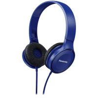 Panasonic RP-HF100M On-Ear Kopfhörer blau
