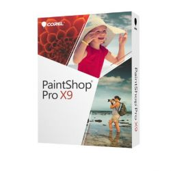 Corel PaintShop Pro X9 Minibox, DE Bild0