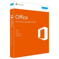 Microsoft Office Home & Student 2016, 1PC PKC (P2) englisch