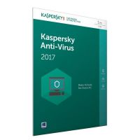 Kaspersky Anti-Virus 2017 1PC 1Jahr FFP / Produkt Key