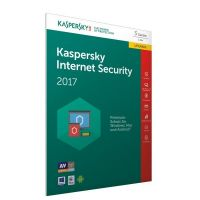 Kaspersky Internet Security 2017 3 Lizenzen Upgrade - FFP, Product Key Card