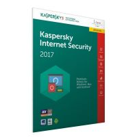 Kaspersky Internet Security 2017 1PC 1Jahr Upgrade - FFP, Product Key Card