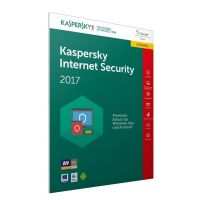 Kaspersky Internet Security 2017 5 Lizenzen Upgrade - FFP, Product Key Card