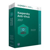 Kaspersky Anti-Virus 2017 1PC 1Jahr Minibox / Produkt Key