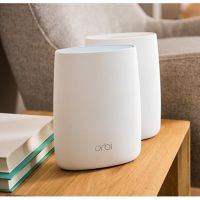Netgear ORBI AC3000 Tri-Band WLAN System Set (Router + Satellit)