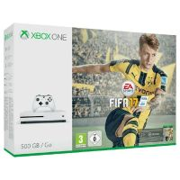 Microsoft Xbox One S Konsole 500GB FIFA 17 Bundle