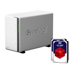 Synology Diskstation DS218j NAS 2-Bay 4TB inkl. 2x 2TB WD RED WD20EFRX   Bild0
