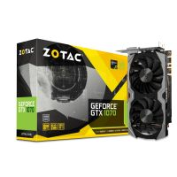 Zotac GeForce GTX 1070 ITX Edition 8GB GDDR5 Grafikkarte DVI/HDMI/3xDP