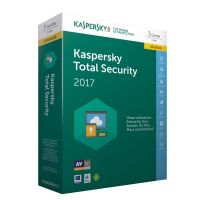 Kaspersky Total Security 2017 Upgrade - 3 Geräte 1 Jahr, Box - Code