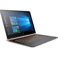 HP Spectre 13-v102ng Notebook schwarz i7-7500U SSD Full HD Windows 10 Bild0