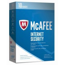 McAfee 2017 Internet Security 10 Device (Code in a Box) Bild0