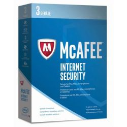 McAfee 2017 Internet Security 3 Device (Code in a Box) Bild0