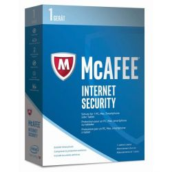 McAfee 2017 Internet Security 1 Device (Code in a Box) Bild0