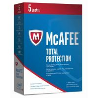McAfee 2017 Total Protection 5 Device (Code in a Box)