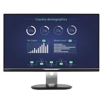 "Philips 258B6QUEB 63.4 cm (25"") 16:9 WQHD Monitor VGA/DVI//HDMI/DP 5ms 20Mio:1"