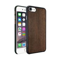 Ozaki O!Coat 0.3 Wood Case für Apple iPhone 7 Ebenholz