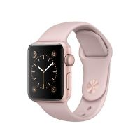 Apple Watch Series 2 38mm Aluminiumgehäuse Roségold mit Sportarmband Sandrosa