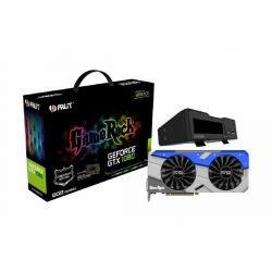 Palit GeForce GTX 1080 GameRock Premium Ed. + G-Panel 8GB GDDR5X Grafikkarte  Bild0