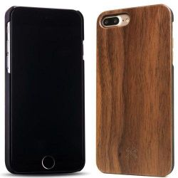 Woodcessories EcoCase Classic für iPhone 8/7 Plus walnuss + schwarz Bild0