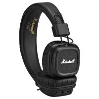 Marshall Major II Bluetooth On-Ear-Kopfhörer schwarz