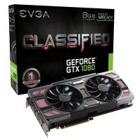 EVGA GeForce GTX 1080 Classified ACX 3.0 8GB GDDR5X DVI/HDMI/3xDP Grafikkarte