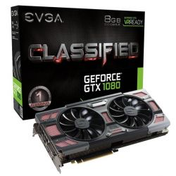 EVGA GeForce GTX 1080 Classified ACX 3.0 8GB GDDR5X DVI/HDMI/3xDP Grafikkarte Bild0