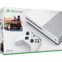 Microsoft Xbox One S Konsole 500GB Battlefield 1 Bundle Limited Edition