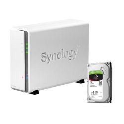 Synology DS115j NAS System 1-Bay 1TB inkl. 1x 1TB Seagate ST1000VN002 Bild0
