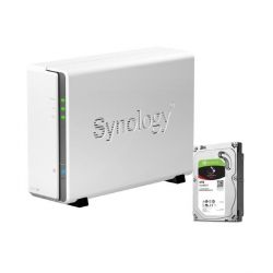 Synology DS115j NAS System 1-Bay 2TB inkl. 1x 2TB Seagate ST2000VN004 Bild0