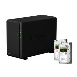 Synology DS216play NAS System 2-Bay 4TB inkl. 2x 2TB Seagate ST2000VN004 Bild0