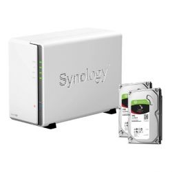 Synology DS216se NAS System 2-Bay 2TB inkl. 2x 1TB Seagate ST1000VN002 Bild0