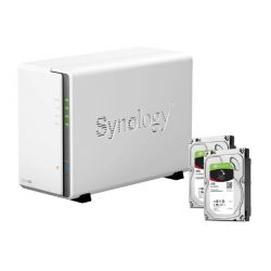 Synology DS216se NAS System 2-Bay 6TB inkl. 2x 3TB Seagate ST3000VN007 Bild0