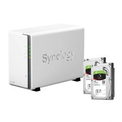 Synology DS216se NAS System 2-Bay 4TB inkl. 2x 2TB Seagate ST2000VN004 Bild0