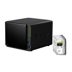 Synology DS416 NAS System 4-Bay 4TB inkl. 4x 1TB Seagate ST1000VN002 Bild0